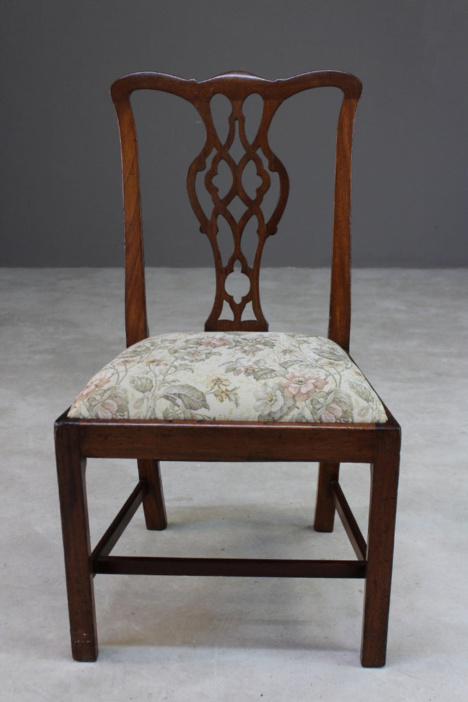 Antique Chippendale Style Dining Chair - Kernow Furniture