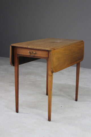 Antique Mahogany Drop Leaf Pembroke Table