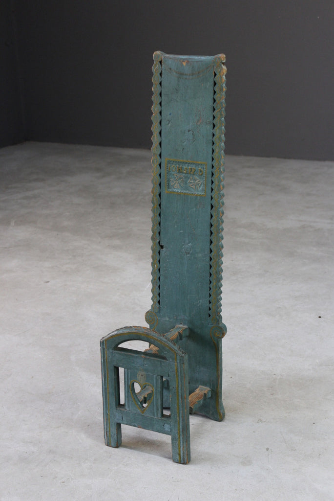 Scandi Painted Folk Style Boot Jack - Kernow Furniture