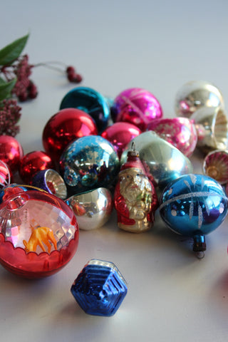Collection Vintage Christmas Decorations