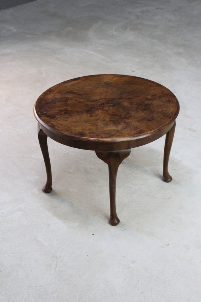 Mid Century Round Coffee Table - Kernow Furniture