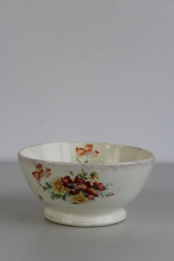 Early 20th Century Transferware Centre Bowl - Kernow Furniture