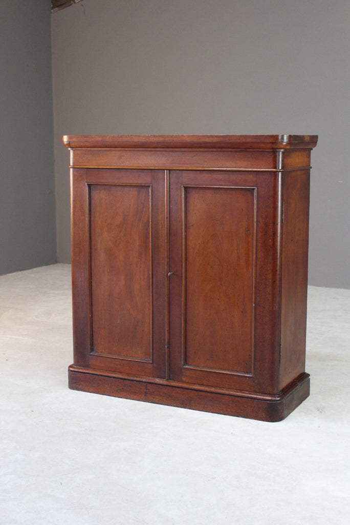 Victorian Mahogany Cupboard - Kernow Furniture