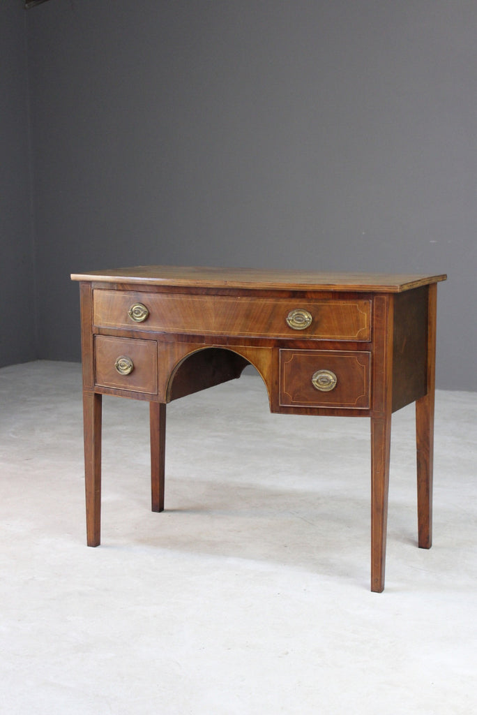 Antique Mahogany Bow Front Sideboard
