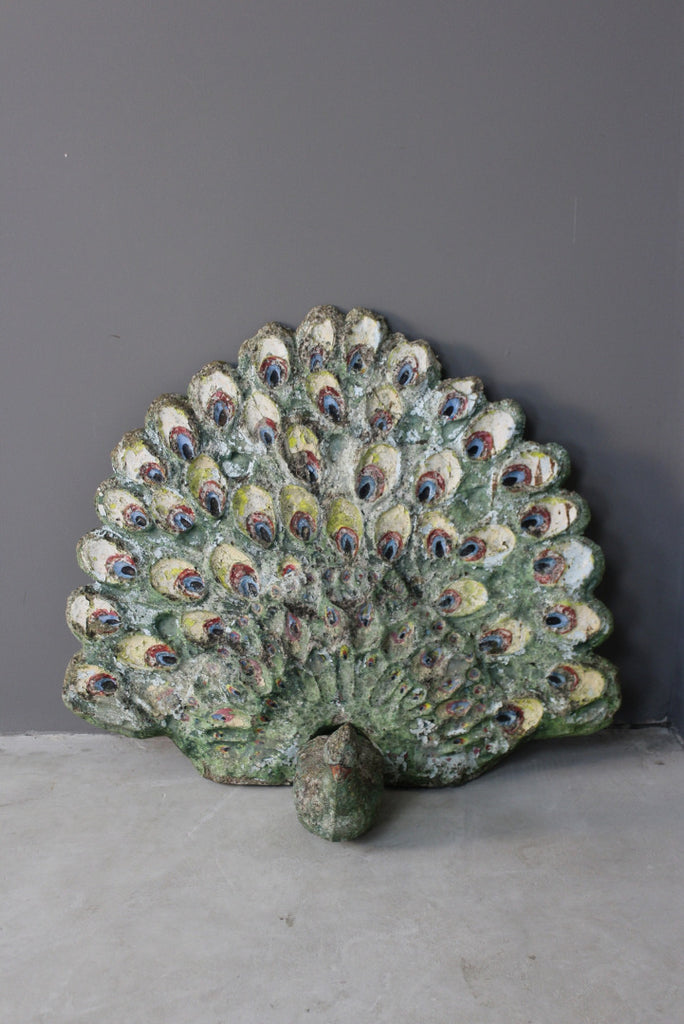Peacock Garden Ornament