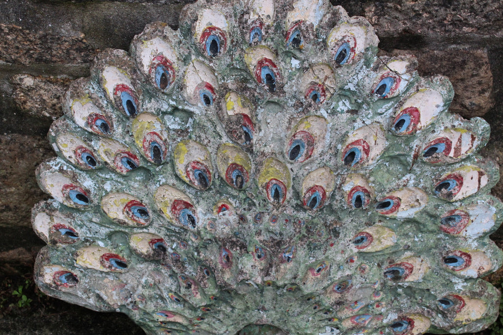 Peacock Garden Ornament - Kernow Furniture