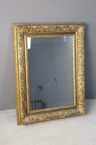 Antique French Ornate Gilt Frame Mirror