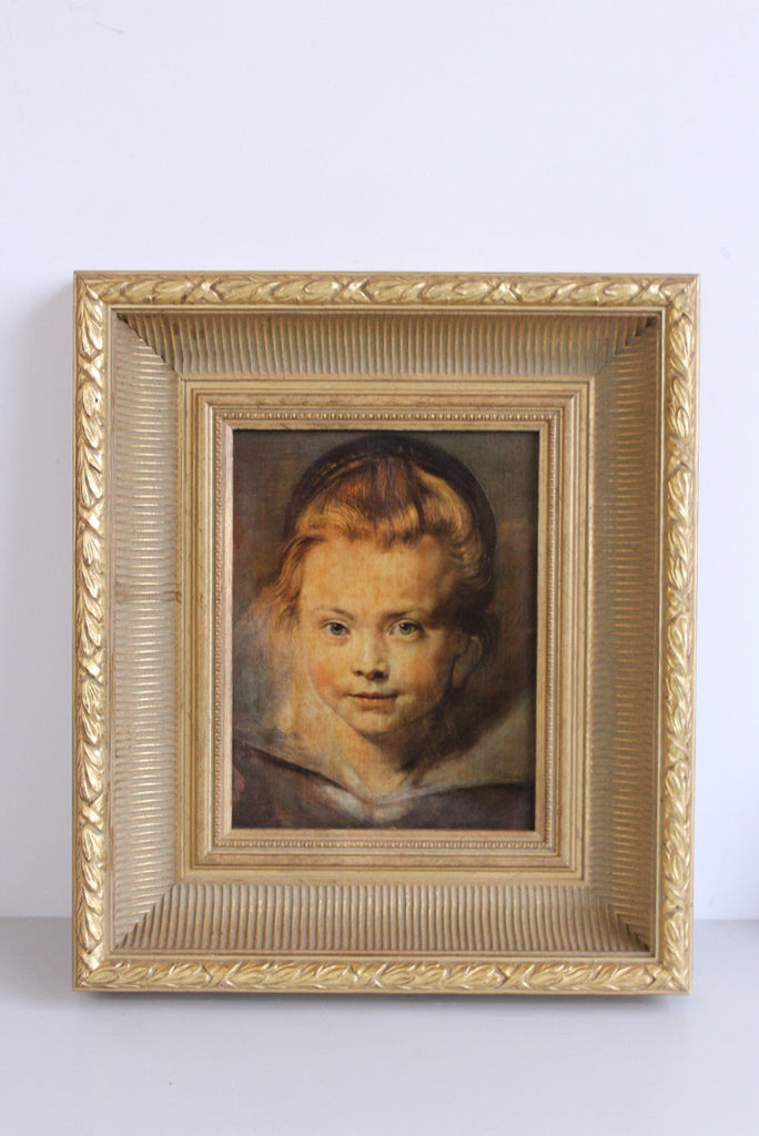Rubens - Portrait of a Child Print On Canvas