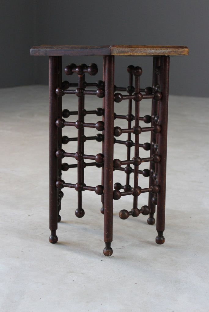 Vintage Moorish Style Side Table - Kernow Furniture