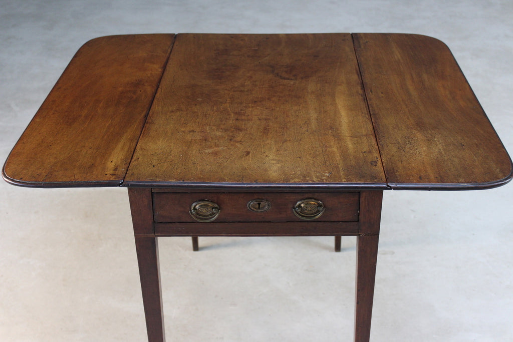 Mahogany 19th Century Mahogany Pembroke Table - Kernow Furniture