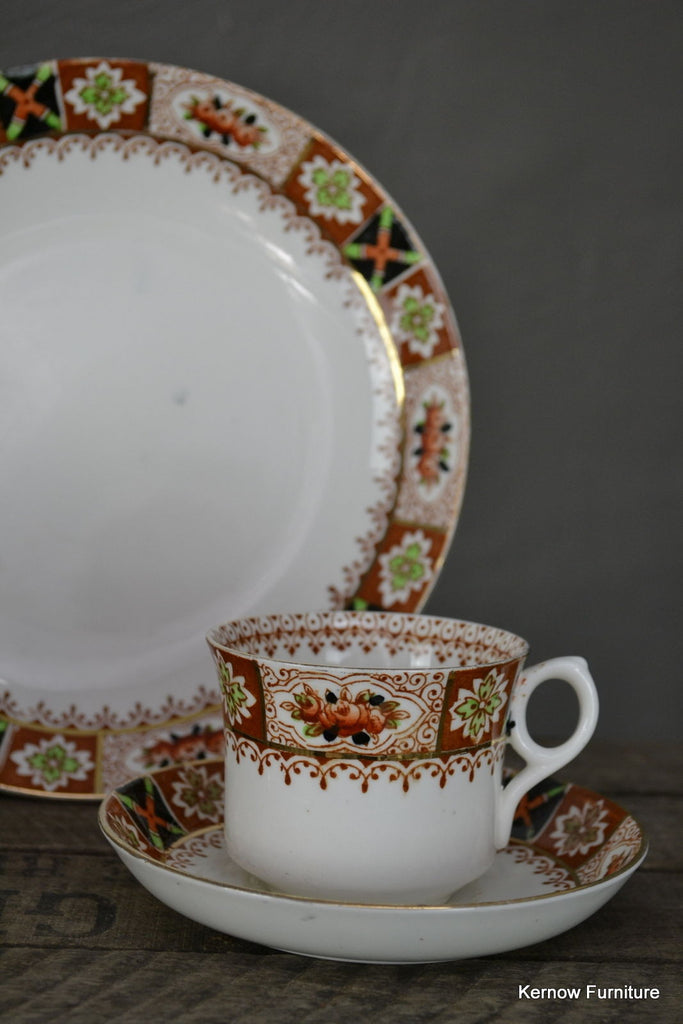 Gladstone Imari Style Bone China Tea Set - Kernow Furniture 100s vintage, retro & antique items in stock