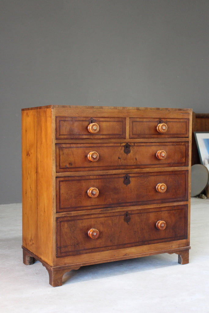 Antique Regency Chest of Drawers - Kernow Furniture
