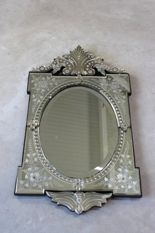 Early 20th Century Venetian Wall Mirror - Kernow Furniture