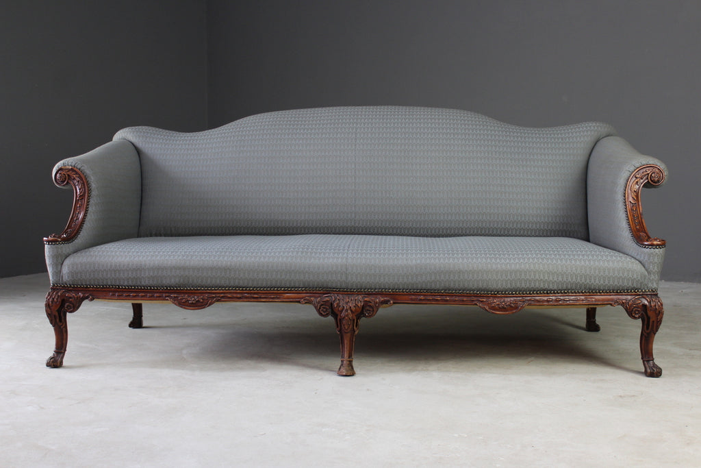 Large Upholstered French Style Sofa - Kernow Furniture