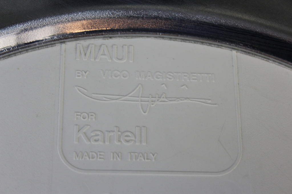 Single Vico Magistretti Kartell Maui Office Chair - Kernow Furniture