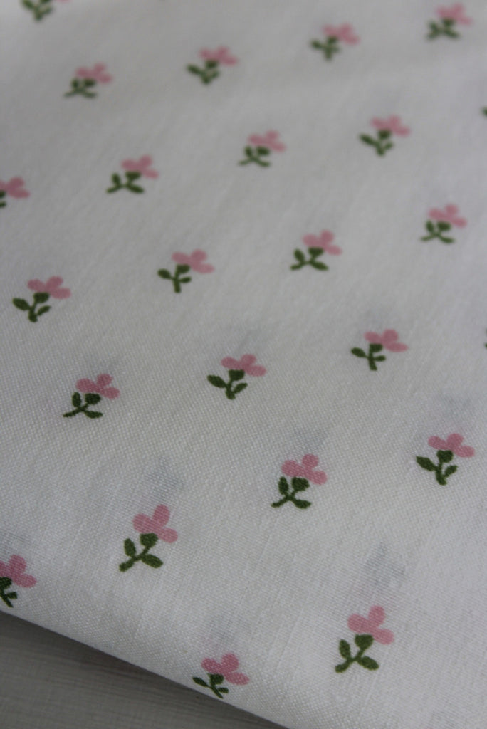 Laura Ashley Vintage Floral Rose Fabric - Kernow Furniture