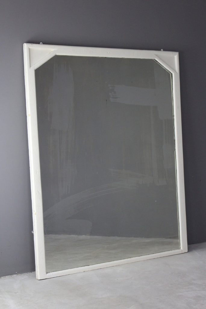 Large Victorian Overmantle Mirror - Kernow Furniture