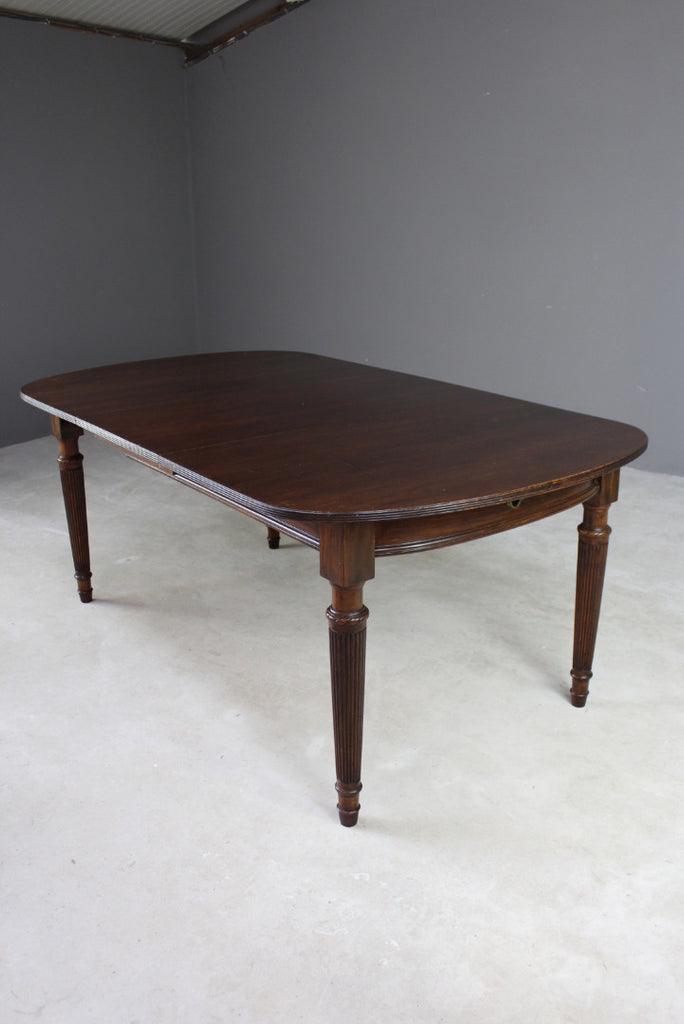 Antique Style Mahogany Dining Table - Kernow Furniture