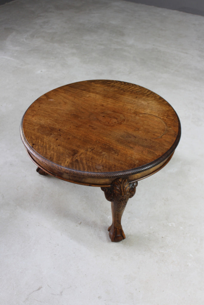 Early 20th Century Mahogany Coffee Table - Kernow Furniture