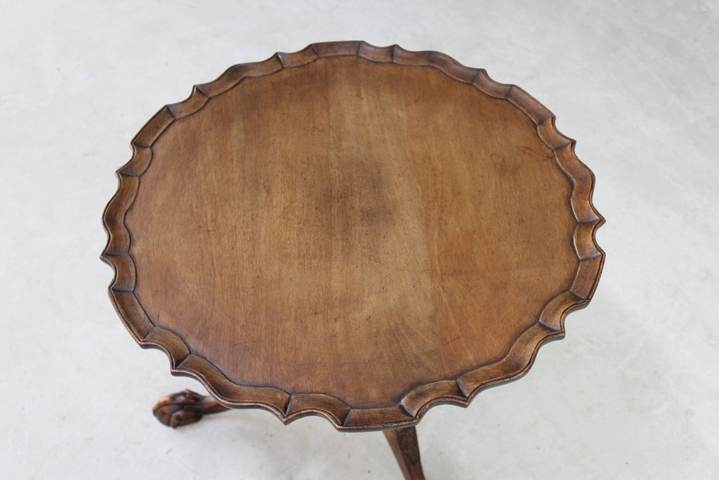Antique Style Pie Crust Table - Kernow Furniture