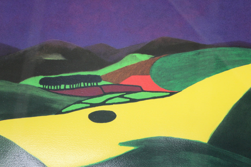 Stan Rosenthal Storm Over The Preseli Hills Silk Screen Print - Kernow Furniture