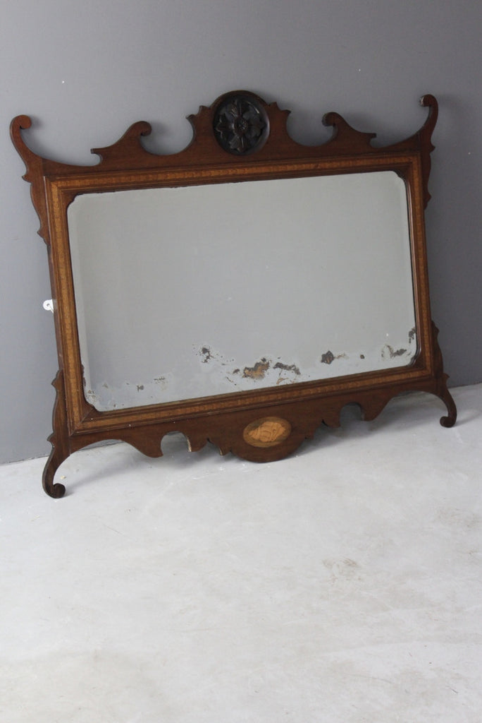 Georgian Design Mahogany Mirror - Kernow Furniture