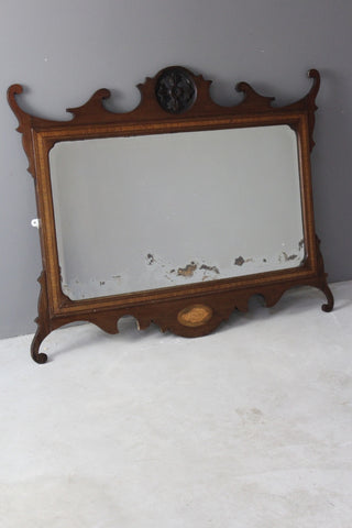 Georgian Design Mahogany Mirror