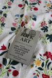 Pair Folk Art Tea Towels - Kernow Furniture