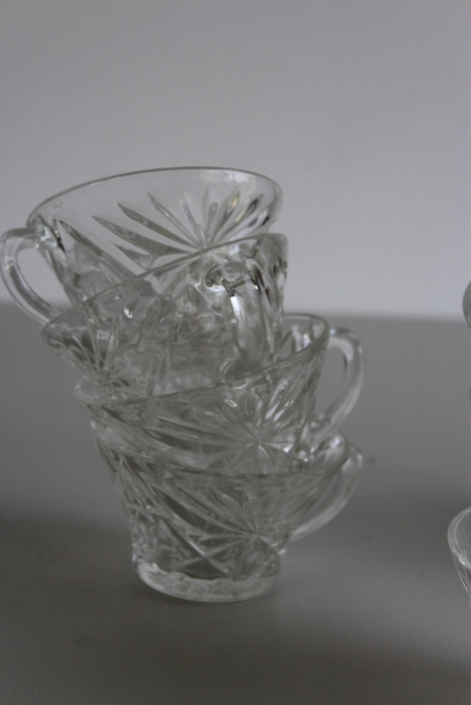 12 Glass Punch Cups - Kernow Furniture