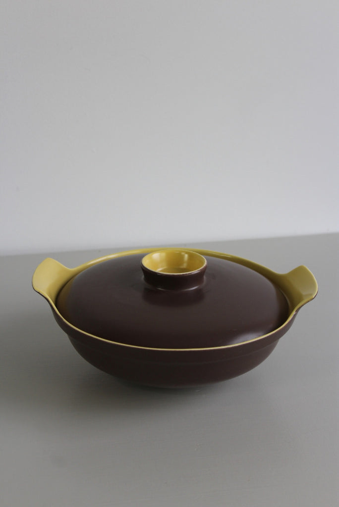 Single Poole Pottery Serving Tureen - Kernow Furniture