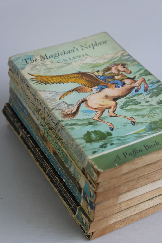 Collection Vintage Puffin Books - Kernow Furniture
