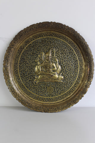 Decorative Indian Brass Tray