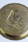 Indian Brass Decorative Tray