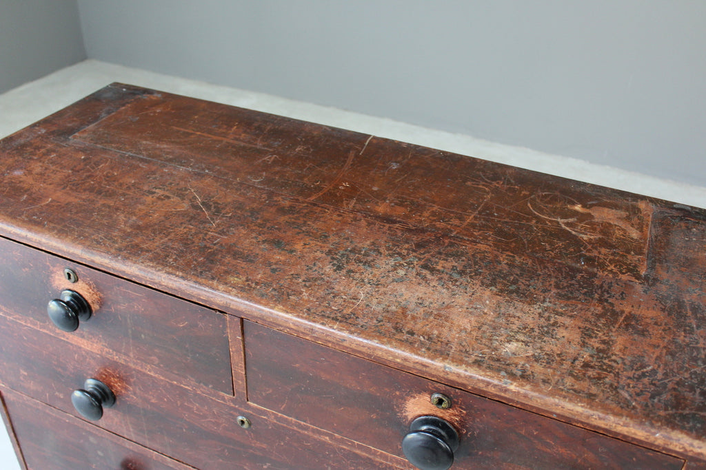 Antique Chest of Drawers - Kernow Furniture