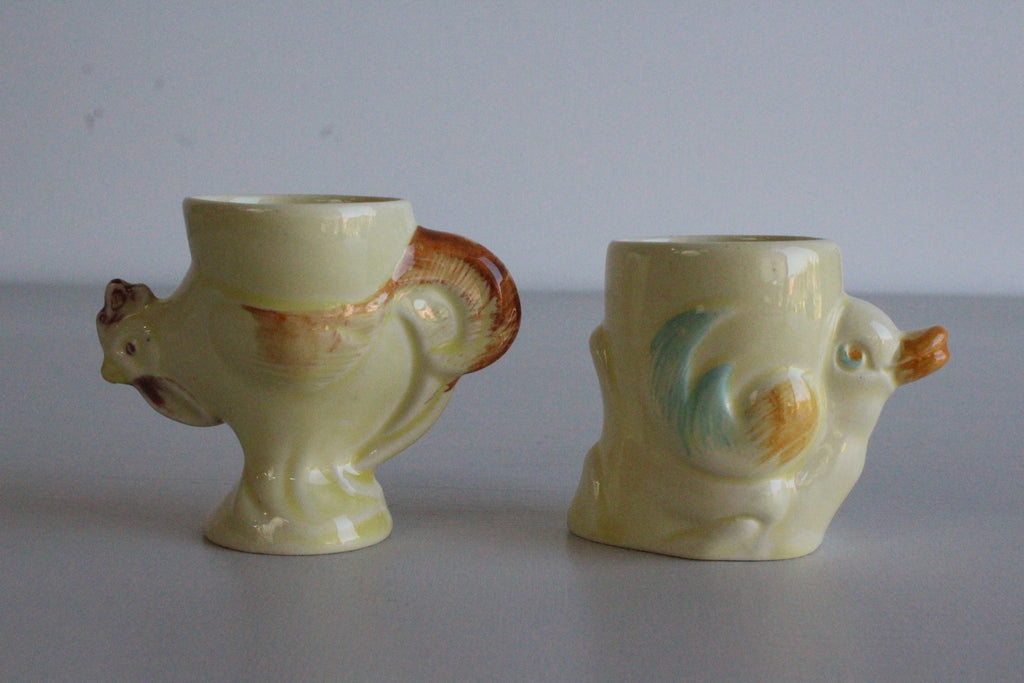 Pair Vintage Egg Cups - Kernow Furniture