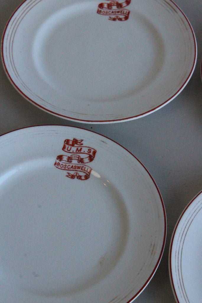 Vintage Tea Plates - Kernow Furniture