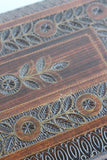 Vintage Carved Floral Wooden Box - Kernow Furniture