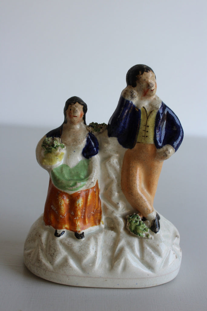 Antique Victorian Staffordshire Figure - Kernow Furniture