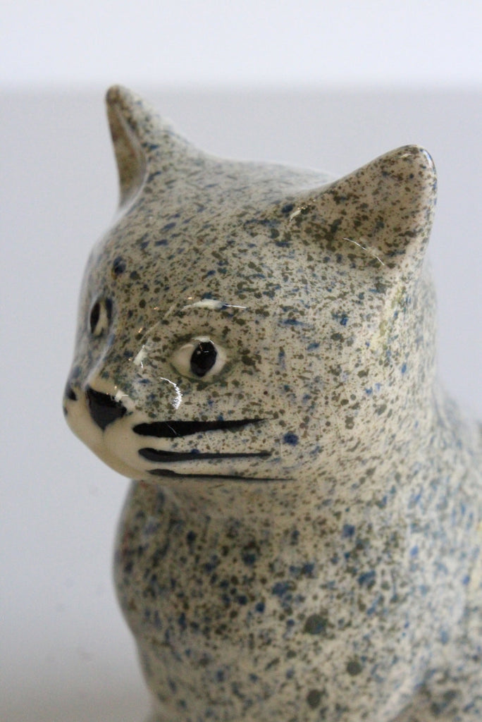 Seated Cat Ornament - Kernow Furniture