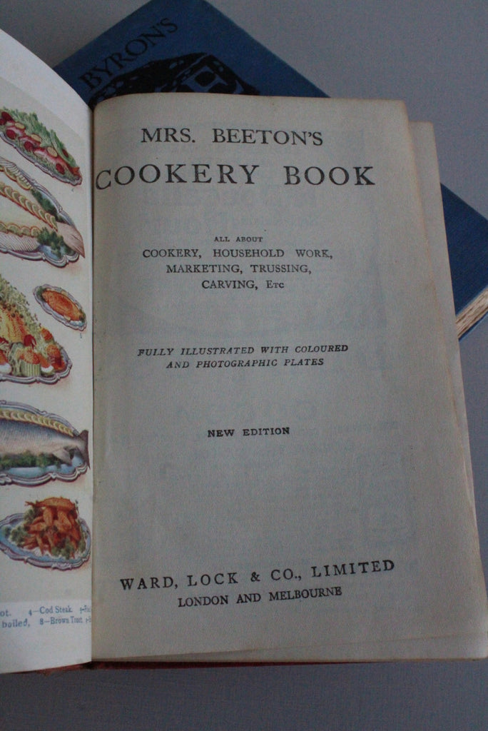 Mrs Beetons Cookery Book - Kernow Furniture