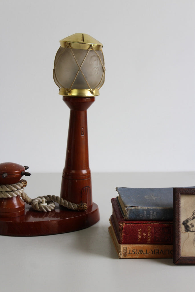 Kitsch Vintage Lighthouse Lamp - Kernow Furniture
