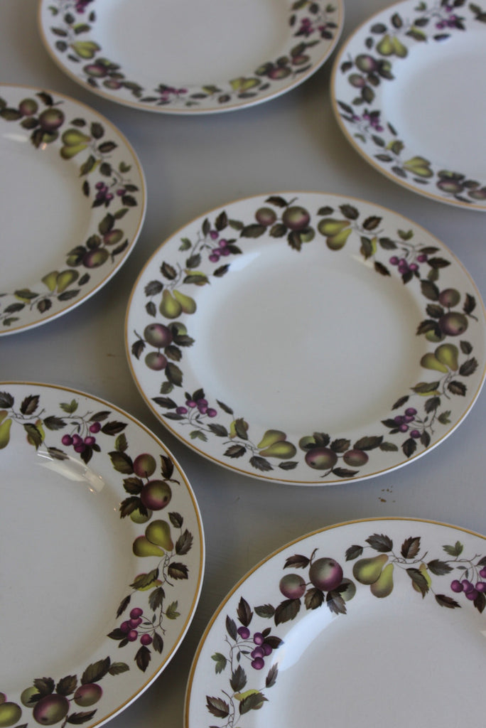 6 Midwinter Evesham Side Plates - Kernow Furniture
