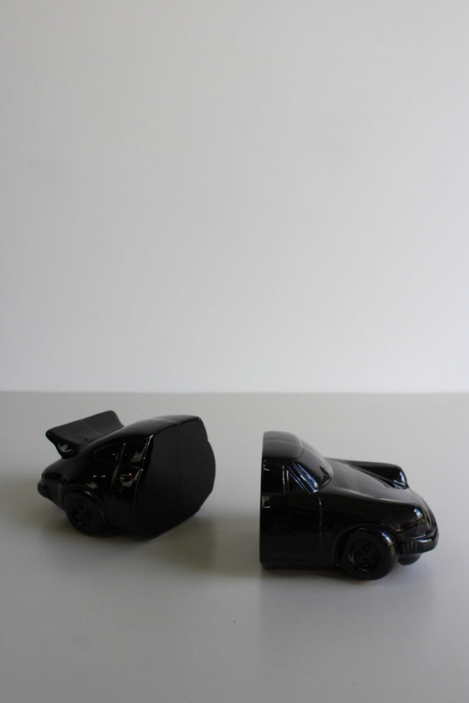 Retro 1980s Porsche Bookends - Kernow Furniture