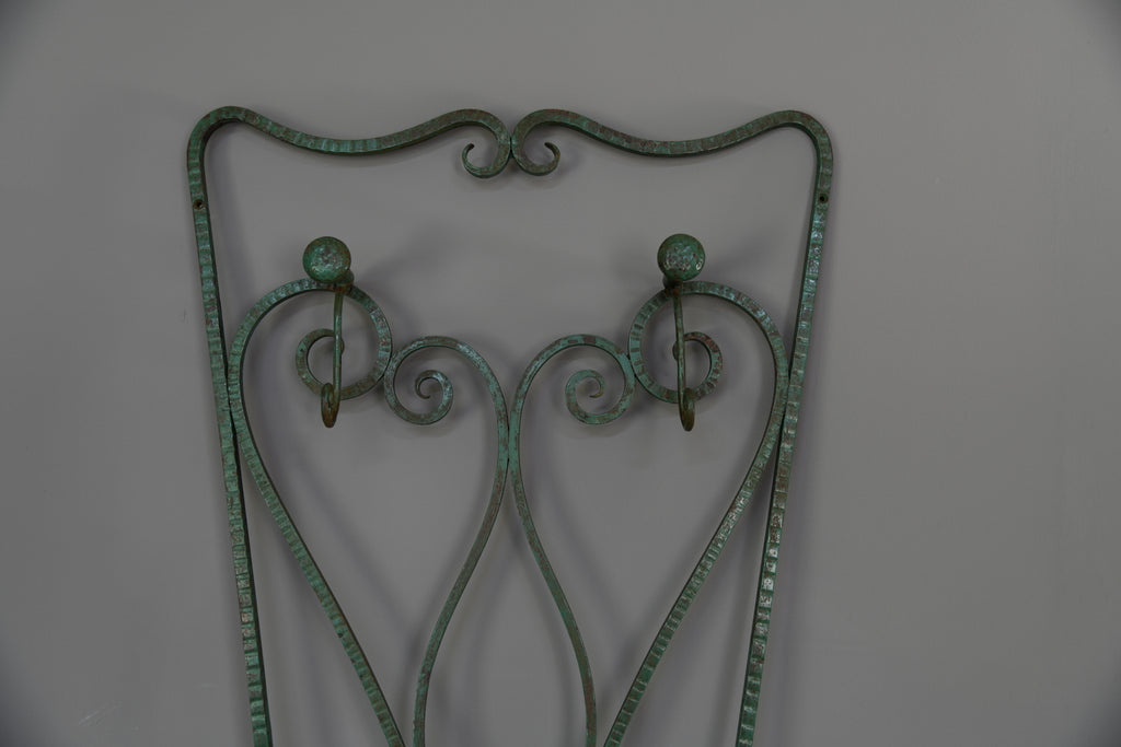 French Scrolled Iron Hall Stand - Kernow Furniture