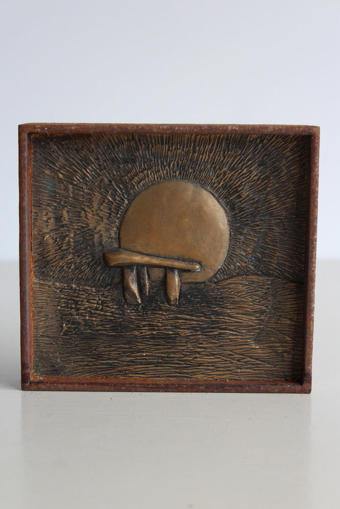 Small Decorative Megalith Contemporary Plaque - Kernow Furniture