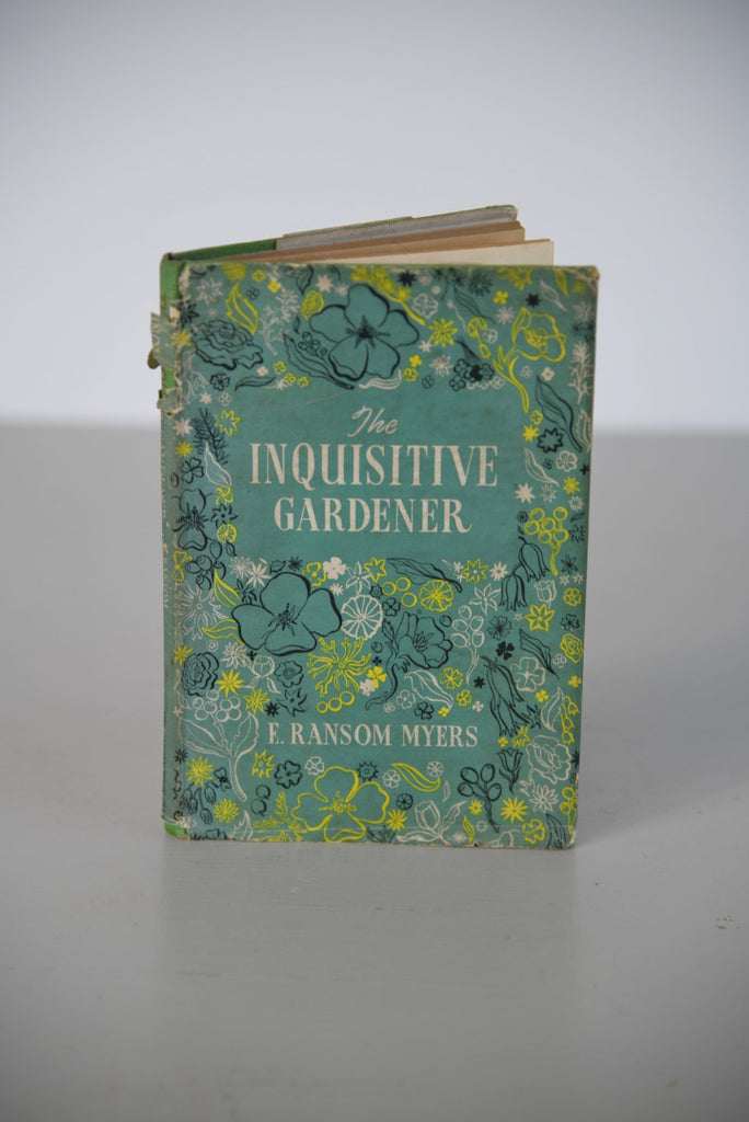 The Inquisitive Gardener - F Ransom Myers - Kernow Furniture