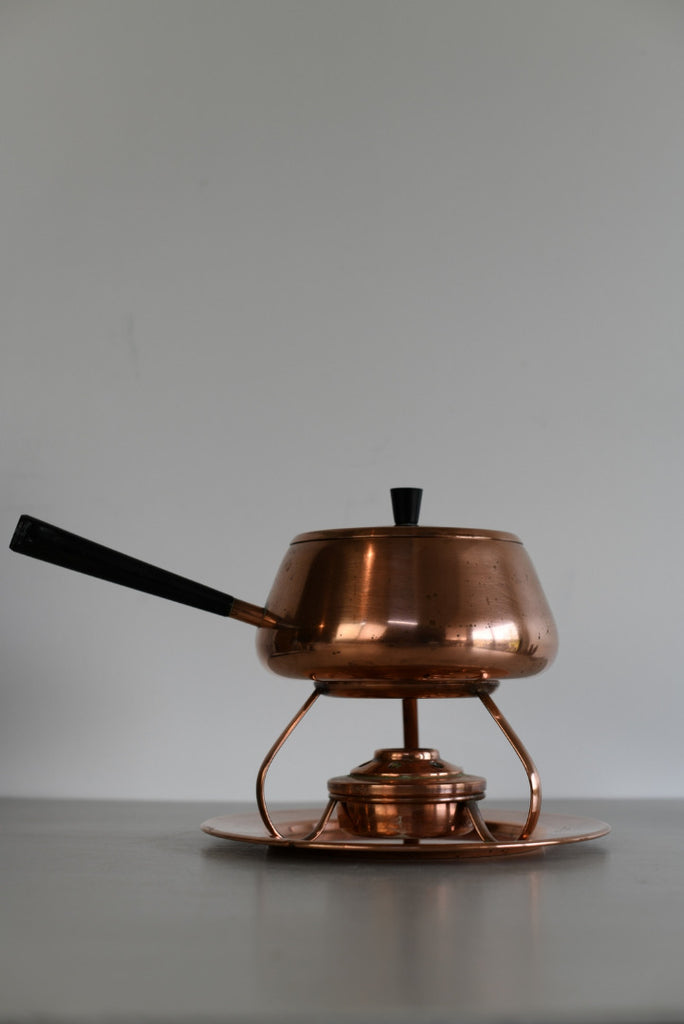 Retro Culinox Swedish Copper Fondue Set - Kernow Furniture
