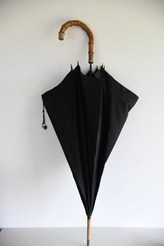 Vintage Black Umbrella - Kernow Furniture