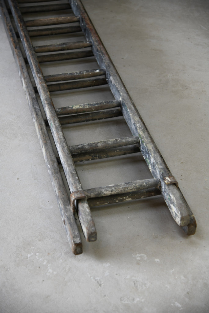 Wooden Rustic Pine Ladders - Kernow Furniture