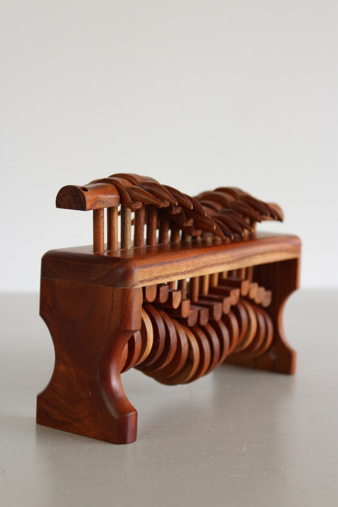 Wooden Centipede Automaton - Kernow Furniture